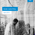 Islamic Relief Gender Justice Policy