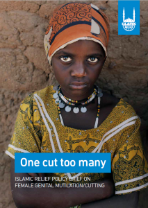 One cut too many-Islamic Relief Policy Brief on FGMC